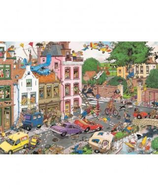 Puzzle Jumbo - Jan Van Haasteren: Friday the 13th, 1.000 piese (19069)