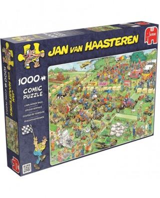 Puzzle Jumbo - Jan Van Haasteren: Lawn Mower Race, 1.000 piese (19021)