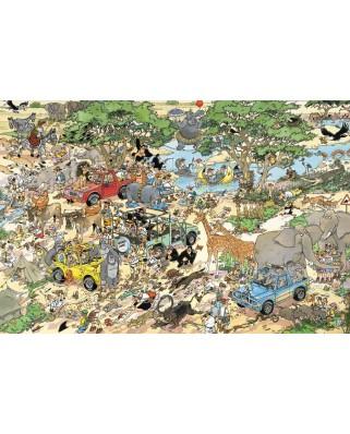 Puzzle Jumbo - Jan Van Haasteren: Safari, 1500 piese (17016)