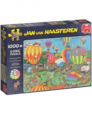 Puzzle Jumbo - Jan Van Haasteren: The Balloon Festival, 1.000 piese (19052)