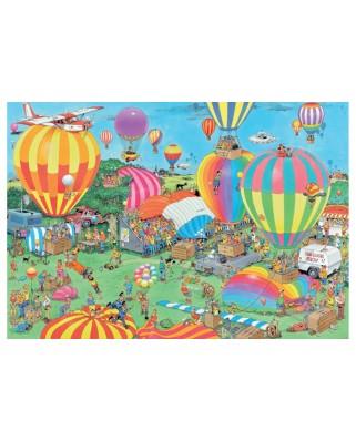 Puzzle Jumbo - Jan Van Haasteren: The Balloon Festival, 2.000 piese (19053)