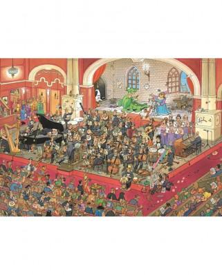 Puzzle Jumbo - Jan Van Haasteren: The Opera, 1.000 piese (17214)