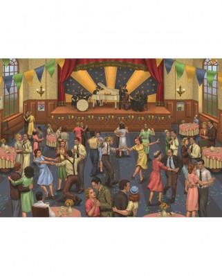 Puzzle Jumbo - Jason Juta : Tea Dance, 1.000 piese (11109)