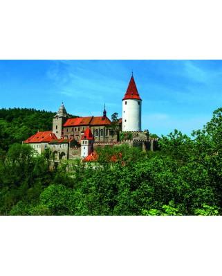 Puzzle Dino - Krivoklat Castle, 500 piese (62929)