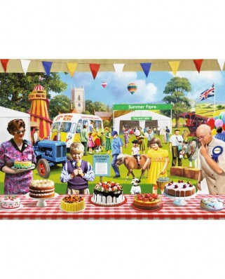 Puzzle Jumbo - Kevin Walsh: The Baking Fair, 1.000 piese (11201)