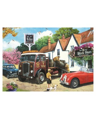 Puzzle Jumbo - Kevin Walsh: The Delivery Round, 500 piese (11176)