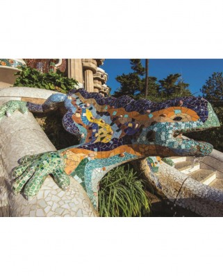Puzzle Jumbo - Park Guell, Barcelona, 500 piese (18540)