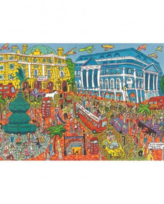 Puzzle Jumbo - Piccadilly Circus, London, 1.000 piese (18563)