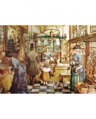 Puzzle Jumbo - Pieck Anton: The Bakery, 200 piese XXL (18514)
