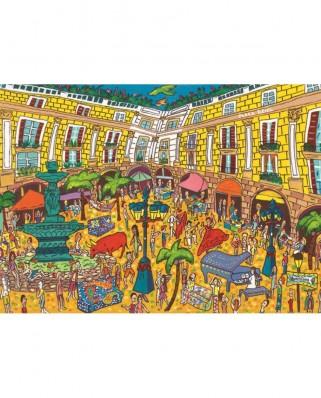 Puzzle Jumbo - Placa Reial, Barcelona, 1.000 piese (18561)