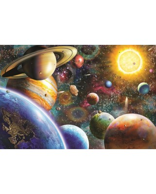 Puzzle Jumbo - Planets in Space, 1500 piese (18586)