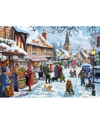 Puzzle Jumbo - Steve Crisp: Seasonal Cheer, 1.000 piese (11191)