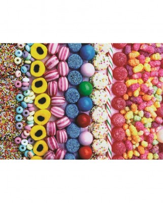 Puzzle Jumbo - Sweets, 500 piese (18536)