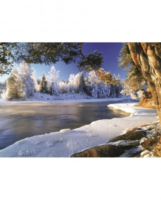 Puzzle Jumbo - The River Dal, Sweden, 1.000 piese (18549)