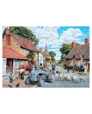 Puzzle Jumbo - Trevor Mitchell: Country Lane, 500 piese (11026)
