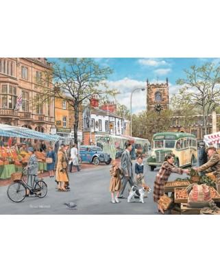 Puzzle Jumbo - Trevor Mitchell: Skipton Market, 500 piese (11146)