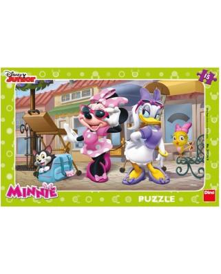 Puzzle Dino - Minnie, 15 piese (62846)