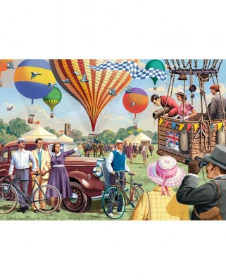 Puzzle Jumbo - Vic McLindon : Falcon Up & Away, 1.000 piese (11189)