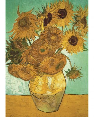 Puzzle Jumbo - Vincent Van Gogh: Sunflowers, 500 piese (18396)