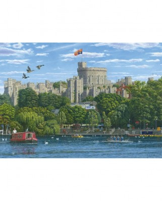 Puzzle Jumbo - Windsor Castle, 1.000 piese (11165)