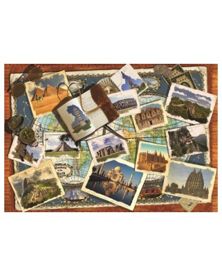 Puzzle Jumbo - Wonders of the World, 2.000 piese (18588)