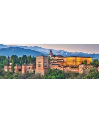 Puzzle panoramic Jumbo - Alhambra, Spain, 1.000 piese (18574)