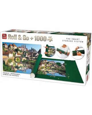 Covor Pentru Puzzle King, 300-1000 Piese + Puzzle Semur-en-Auxois, France, 1.000 piese (05340)