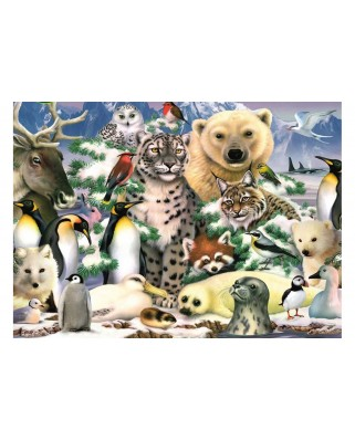Puzzle King - Artic Life, 1.000 piese (05485)