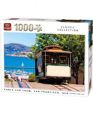 Puzzle King - Cable Cart Tram, 1.000 piese (05720)