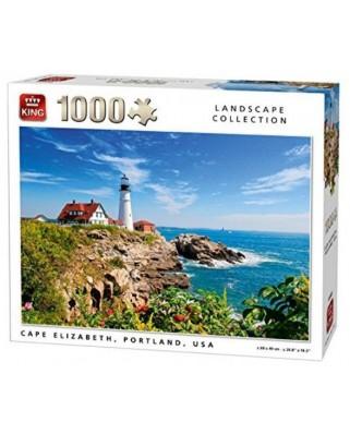 Puzzle King - Cape Elizabeth, Portland, 1.000 piese (05709)