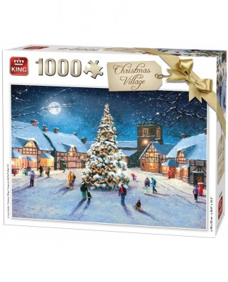 Puzzle King - Christmas Village, 1.000 piese (05610)