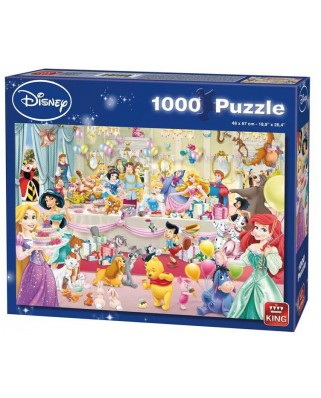 Puzzle King - Disney - Happy Birthday, 1.000 piese (05264)
