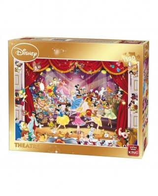 Puzzle King - Disney - Theatre, 1500 piese (05262)