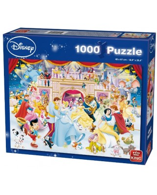 Puzzle King - Disney Holiday on Ice, 1.000 piese (05180)