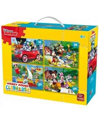 Puzzle King - Disney Junior, 12/16/20/24 piese (05505)