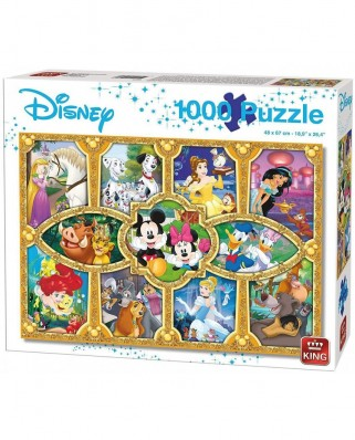 Puzzle King - Disney Magical Moments, 1000 piese (05279)