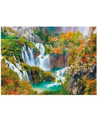 Puzzle Dino - Plitvice Lakes National Park, 1000 piese (62961)