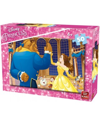 Puzzle King - Disney Princess, 50 piese (king-Puzzle-05317-B)