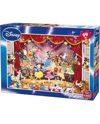 Puzzle King - Disney Theatre, 99 piese (05178-B)