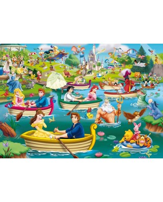 Puzzle King - Disney, Fun on The Water, 1.000 piese (05260)