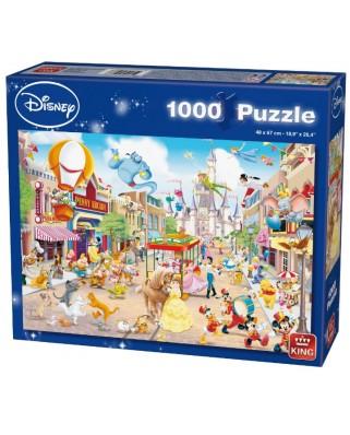 Puzzle King - Disneyland, 1.000 piese (05086)