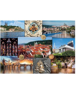 Puzzle Dino - Prague, Czech Republic, 2.000 piese (62998)