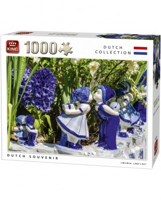 Puzzle King - Dutch Souvenir, 1.000 piese (05676)