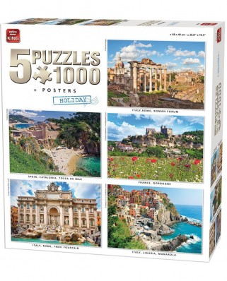 Puzzle King - Europe, 1.000 piese (85531)