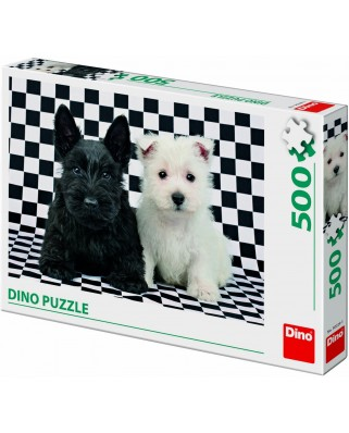 Puzzle Dino - Puppies, 500 piese (62930)