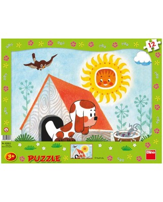 Puzzle Dino - Puppy, 12 piese (62851)