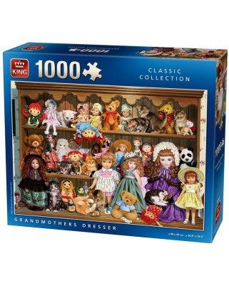 Puzzle King - Grandmothers Dresser, 1.000 piese (05365)