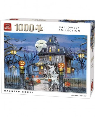Puzzle King - Halloween Haunted House, 1.000 piese (05723)
