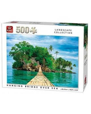 Puzzle King - Hanging Bridge, 500 piese (05536)