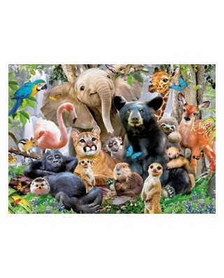 Puzzle King - Jungle Party, 1.000 piese (05484)